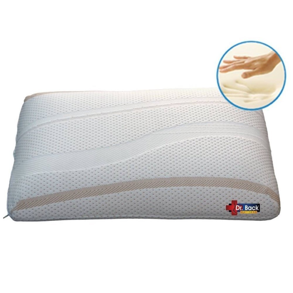 Impereal Memory Foam Pillow - Fabric - Best Memory Pillow - High Quality - Most Comfortable Pillow in India