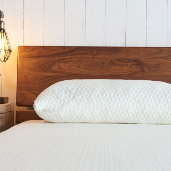Impereal Memory Foam Pillow - On Bed - Best Memory Pillow - High Quality - Most Comfortable Pillow in India